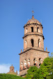 Church of San Francisco in Queretaro. Royalty Free Stock Photo