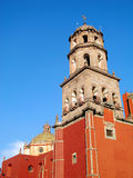 Church of San Francisco in Queretaro, Mexico. Royalty Free Stock Photo