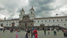 Church of San Francisco in Quito Stock Photos