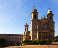 Church  of San Francisco in  Santiago de Compostela Stock Images