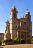 Church of San Francisco. Santiago de Compostela Stock Photos