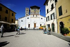 The church of San Frediano Stock Photo