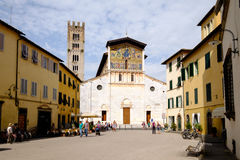Church of San Frediano, Lucca Royalty Free Stock Photo