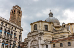 Church San Geremia and Palazzo Labia in Venice Royalty Free Stock Photos