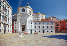 Church San Geremia in Venice, Italy Royalty Free Stock Photography