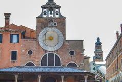 The church of San Giacomo di Rialto , Venice , Italy stock photography
