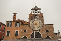 Church of San Giacomo in Venezia, Italy Royalty Free Stock Photography