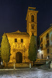 Church of San Gil and Santa Ana, Granada, Spain. Church of San Gil and Santa Ana is a prototype of the Mudejar style in Granada, built on the foundations of a royalty free stock photography