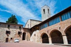 Church in San Gimignano Stock Photos