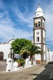 The church of San Gines, Arrecife, Lanzarote Royalty Free Stock Image