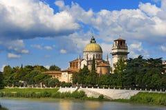 Church of San Giorgio in Braida - Verona Italy Stock Photo