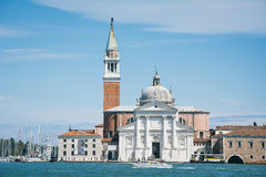 Church of San Giorgio Maggi ore in Venice Royalty Free Stock Images