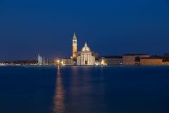 Church of San Giorgio Maggiore at dusk Stock Photos
