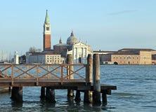 The church of San Giorgio Maggiore on Isola San Giorgio, Venice, Stock Photos