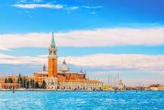 The church of San Giorgio Maggiore on Isola San Giorgio, Venice Stock Photo