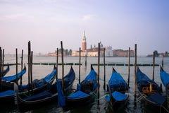 Church of San Giorgio Maggiore at Sunrise stock image