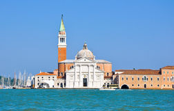 Church of San Giorgio Maggiore in Venice. Royalty Free Stock Photography