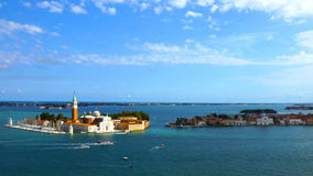 The Church of San Giorgio Maggiore in Venice, Italy Stock Photography