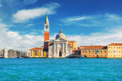Church of San Giorgio Maggiore, Venice, Italy Royalty Free Stock Photography