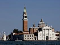 Church of San Giorgio Maggiore. Venice, Italy. San Giorgio Maggiore is a 16th-century Benedictine church on the island of the same name Venice, northern Italy royalty free stock photos