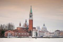 Church of San Giorgio Maggiore in Venice Italy Royalty Free Stock Image