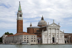 Church of San Giorgio Maggiore. Viewed from the main island, Venice, Italy Stock Image
