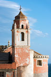Church of San Giorgio - Tellaro Liguria Italy Stock Image