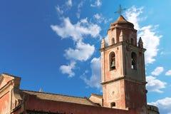 Church of San Giorgio - Tellaro Liguria Italy Stock Photography