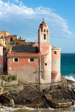 Church of San Giorgio - Tellaro Liguria Italy Royalty Free Stock Photo