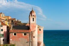 Church of San Giorgio - Tellaro Liguria Italy Royalty Free Stock Photos
