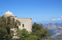 Church of San Giovani, Erice, Sicily, Italy Stock Photography