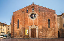 Church of San Giovanni in Canale, Piacenza, Italy Stock Photo