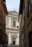 Church of San Giovanni dei Fiorentini, in Rome Stock Image