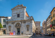 Church San Giovanni in Lucca Royalty Free Stock Images