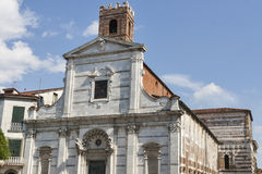 Church of San Giovanni in Lucca, Italy Stock Images