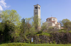 Church of San Giovanni Nuovo in Duino Royalty Free Stock Photography