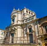Church of San Giuliano in Catania - Sicily, Italy Royalty Free Stock Photos