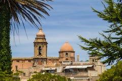 Church of San Giuliano in Erice (Sicily, Italy) Royalty Free Stock Photo