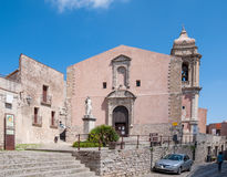 The church of San Giuliano, Sicily, Italy Stock Photography