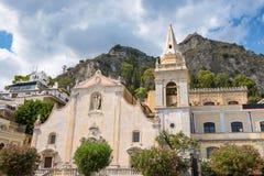 Church of San Giuseppe in Taormina Stock Photo
