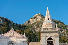 Church of San Giuseppe - Taormina Sicily Italy Stock Image