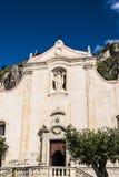 Church of San Giuseppi in Taormina, Sicily, Italy Royalty Free Stock Images