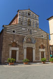 Church San Giusto in Lucca (Italy) Stock Image