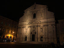 Church of San Ignazio Royalty Free Stock Photo