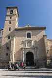 Church of San Ildefonso Granada, Spain Stock Image