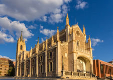 Church San Jeronimo el Realo in Madrid, Spain Royalty Free Stock Image