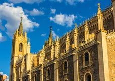 Church San Jeronimo el Realo in Madrid Royalty Free Stock Images