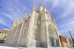 Church of San Jeronimo, Madrid. Stock Image