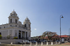 Church in San Jose Costa Rica Royalty Free Stock Photography