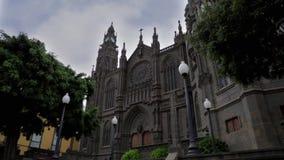 Church of San Juan Bautista stock footage